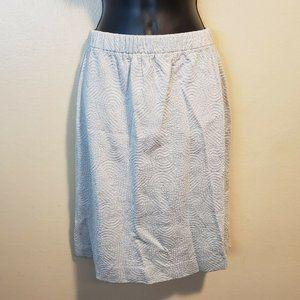 St John by Marie Gray Printed Pencil Skirt